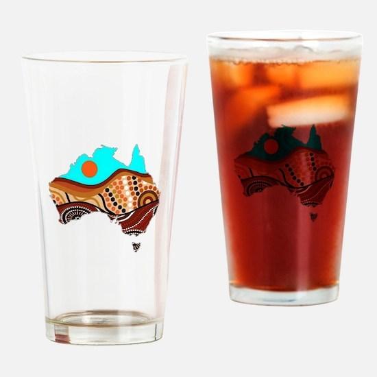 AUSSIE Drinking Glass