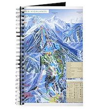 Cute Skiing fan Journal