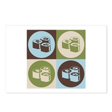 Sushi Pop Art Postcards (Package of 8)