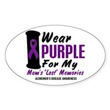 Mom's Lost Memories 2 Oval Decal