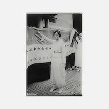 Suffrage Hero Alice Paul Rectangle Magnet