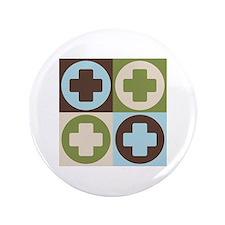"""Surgical Technology Pop Art 3.5"""" Button"""