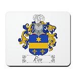 Riso Family Crest Mousepad