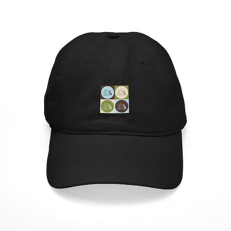 Surgery Pop Art Black Cap