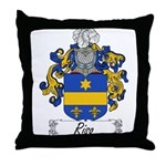 Riso Family Crest Throw Pillow