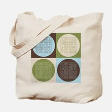 Sudoku Pop Art Tote Bag