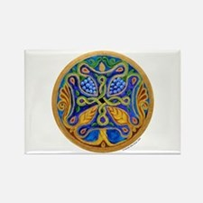Armenian Tree of Life Cross Rectangle Magnet