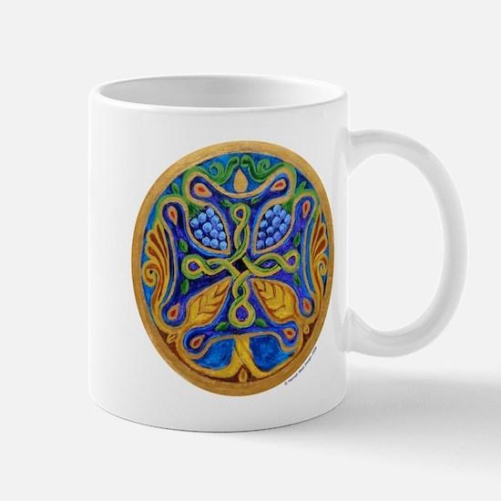 Armenian Tree of Life Cross Mandala Mug