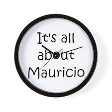 Cool Mauricio Wall Clock