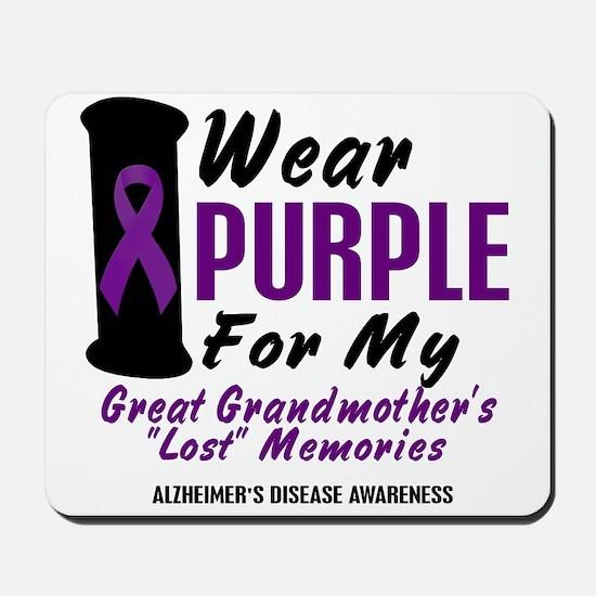 Great Grandmother's Lost Memories 2 Mousepad