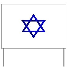 Star of David Yard Sign