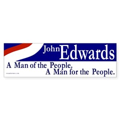 John Edwards for the People (sticker)