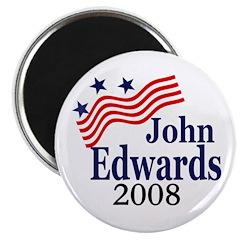 John Edwards 2008 Campaign Magnet