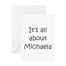 Cool Michaela Greeting Card