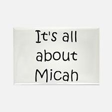 Cute Micah Rectangle Magnet
