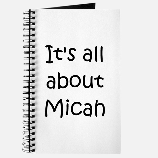 Unique Micah Journal