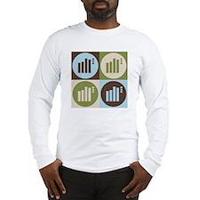Statistics Pop Art Long Sleeve T-Shirt