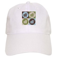 Statistics Pop Art Baseball Cap