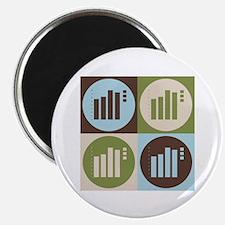 Statistics Pop Art Magnet