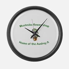 Mushniks Large Wall Clock