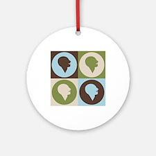 Speech-Language Pathology Pop Art Ornament (Round)