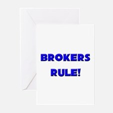 Brokers Rule! Greeting Cards (Pk of 10)