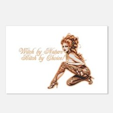 Sexy Witch by Nature Postcards (Package of 8)