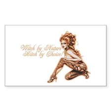 Sexy Witch by Nature Rectangle Sticker 50 pk)