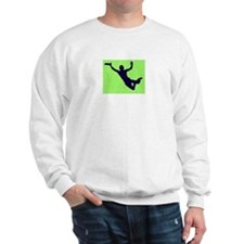 PAINTED GREEN BLUE DISC CATCH Sweatshirt