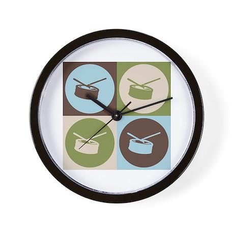 Snare Drum Pop Art Wall Clock