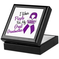 I Wear Purple For My Great Grandmother 18 (AD) Kee