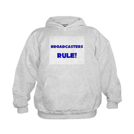 Broadcasters Rule! Kids Hoodie