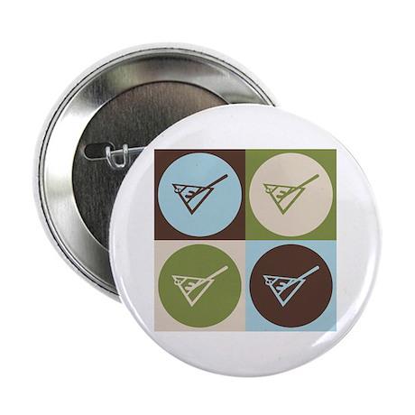 """Shuffleboard Pop Art 2.25"""" Button"""