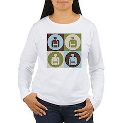 Security Pop Art Women's Long Sleeve T-Shirt