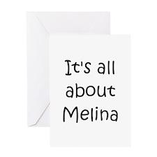 Cool Melina Greeting Card