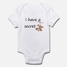 secret-this little monkey Big Infant Bodysuit