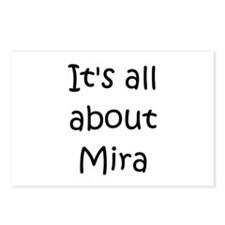 Funny Mira Postcards (Package of 8)