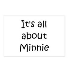 Cute Minnie Postcards (Package of 8)
