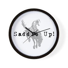 Saddle Up! Wall Clock