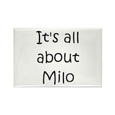 Cute Milo Rectangle Magnet