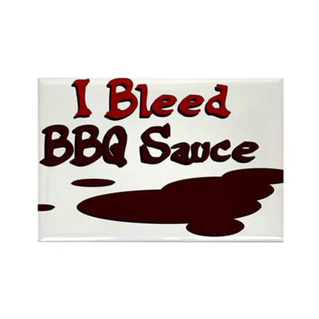 I Bleed Sauce Rectangle Magnet (100 pack)