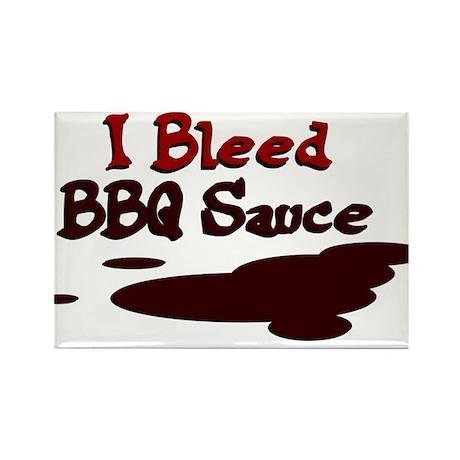 I Bleed Sauce Rectangle Magnet (10 pack)