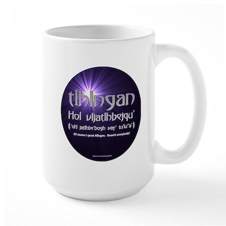 I Speak Klingon Large Mug