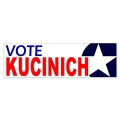 Vote Kucinich (bumper sticker)