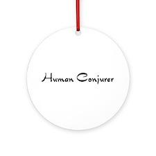 Human Conjurer Ornament (Round)