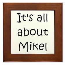 Unique Mikel Framed Tile