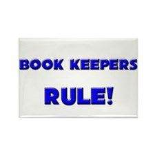 Book Keepers Rule! Rectangle Magnet