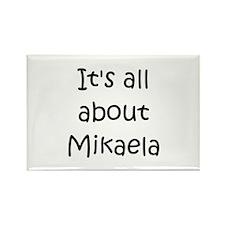 Funny Mikaela Rectangle Magnet