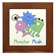 Monster Mosh Framed Tile