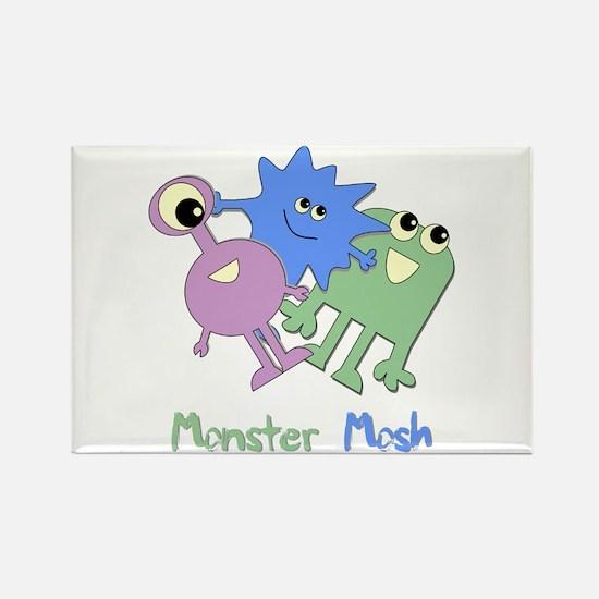 Monster Mosh Rectangle Magnet
